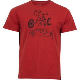 United By Blue Built To Ride Shortsleeve Shirt Men red
